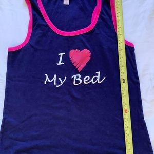 I love my bed tank size 2x